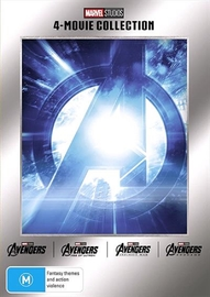 Marvel: Avengers Quad Pack on DVD image