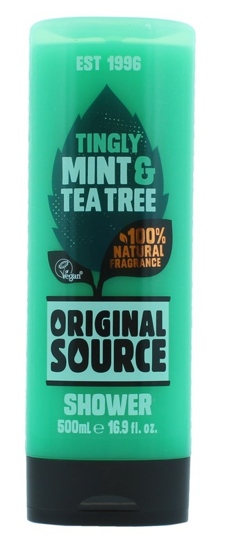 Original Source: Shower Gel Mint & Tea Tree (500 ml)