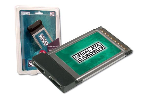 Digitus PCMCIA SATA150 Card image