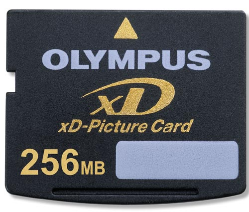 Olympus xD Picture Card 256MB M-xD 256P image