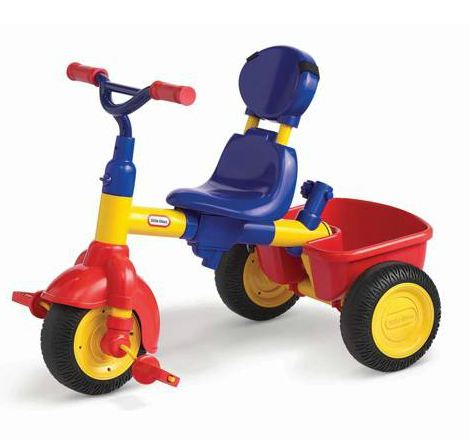 Little Tikes 3-in-1 Trike - Red, Yellow and Blue image