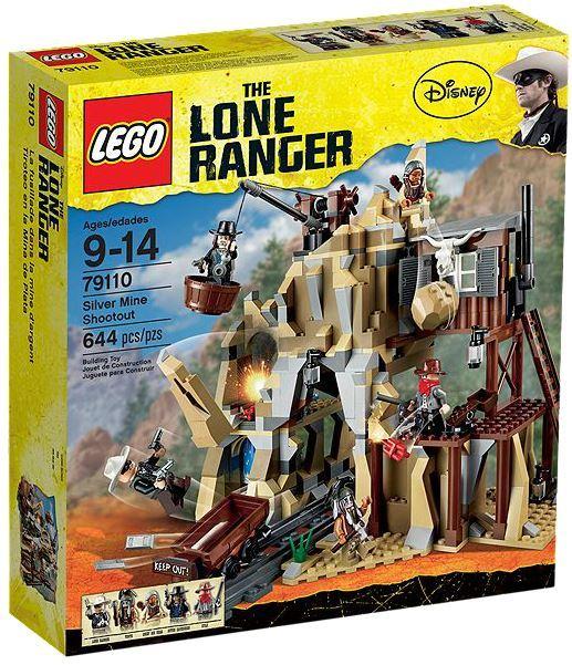 LEGO The Lone Ranger - Silver Mine Shootout (79110)