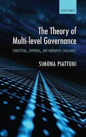 The Theory of Multi-level Governance by Simona Piattoni image