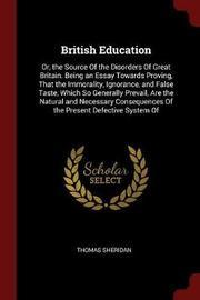 British Education by Thomas Sheridan image