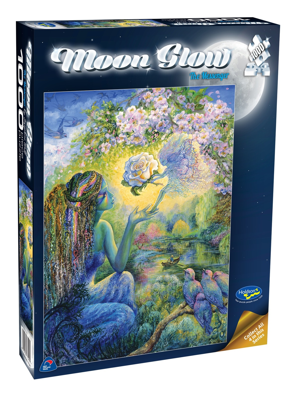 Holdson: 1000 Piece Puzzle - Moon Glow (The Messenger) image