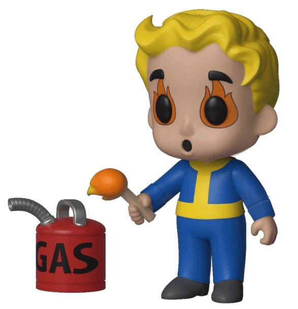 Fallout: Vault Boy (Pyromaniac) - 5-Star Vinyl Figure image