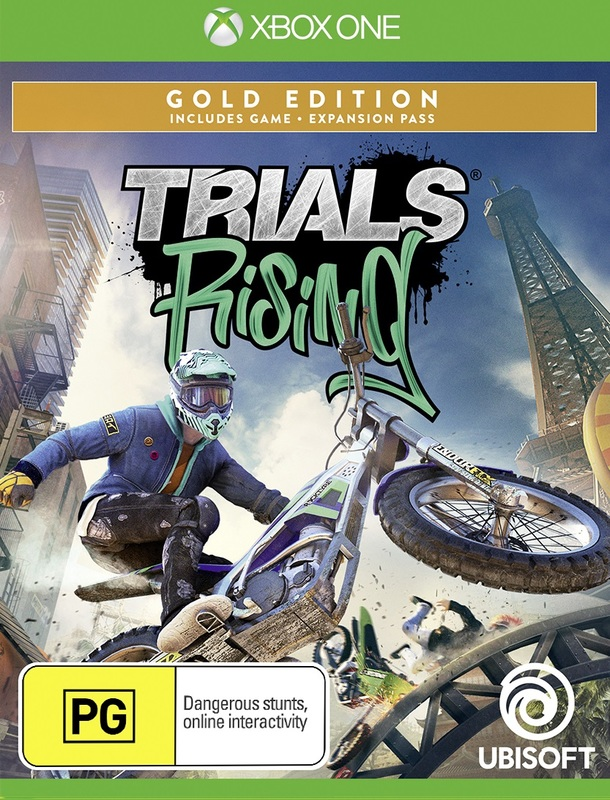 Trials Rising Gold Edition for Xbox One