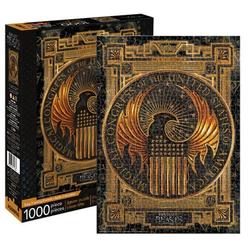Fantastic Beasts: 1,000 Piece Puzzle - MACUSA
