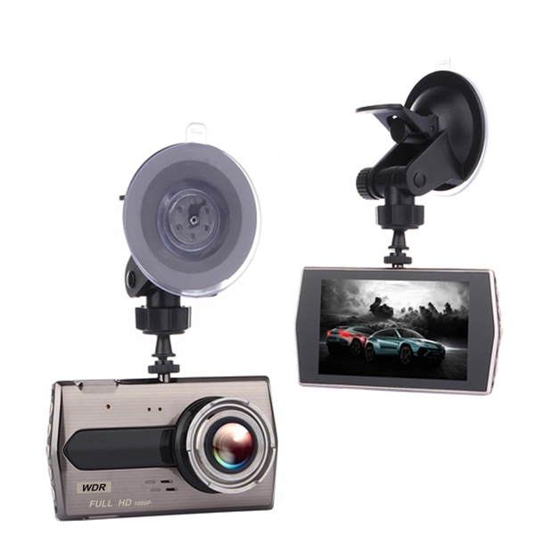 4.0 inch car camera recorder with 170 degree wide angle dvr car camera