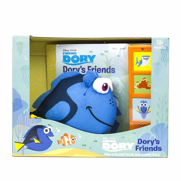 Finding Dory Book & Plush
