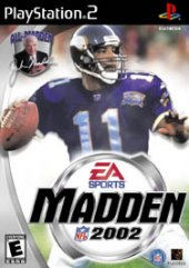 Madden 2002 for PlayStation 2