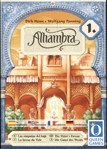 Alhambra: The Vizier's Favour Expansion