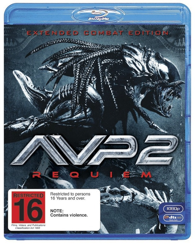 AVP2: Alien Vs Predator - Requiem on Blu-ray