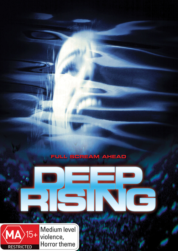 Deep Rising on DVD