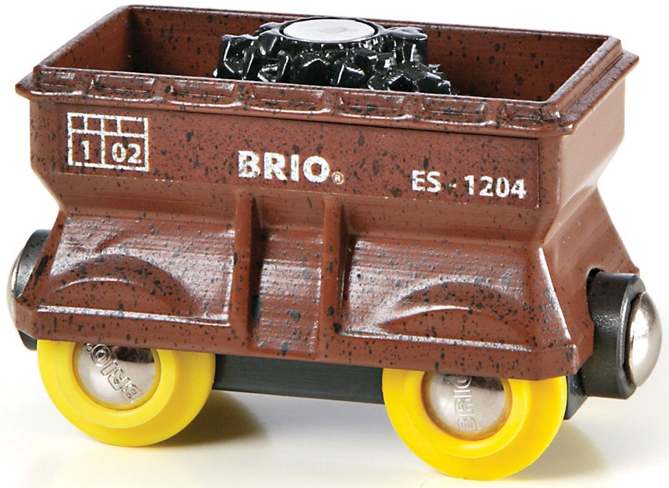 Brio Railway - Handy Coal Wagon image