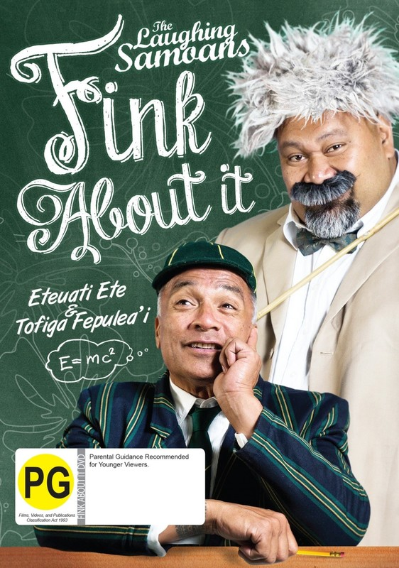 The Laughing Samoans: Fink About It on DVD