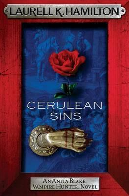 Cerulean Sins (Anita Blake #11) (red frame) by Laurell K. Hamilton