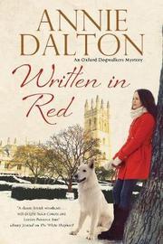 Written in Red by Annie Dalton