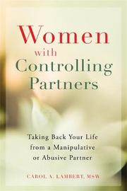 Women with Controlling Partners by Carol A. Lambert