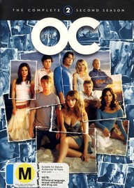 The O.C. - The Complete Second Season (6 Disc Box Set) on DVD image