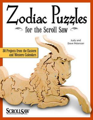 Zodiac Puzzles for Scroll Saw Woodworking by Judy Peterson