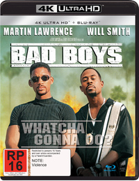 Bad Boys on Blu-ray, UHD Blu-ray