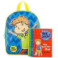 Hey Jack BIG Backpack Of Books – Backpack with 6 Book Set