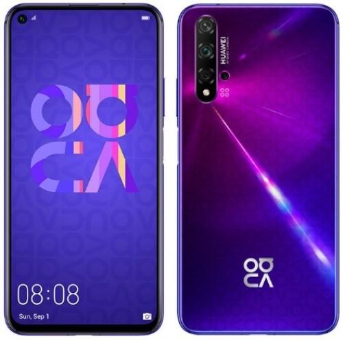 Huawei: Nova 5T Dual SIM Smartphone 8+128GB - Purple image