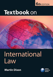 Textbook on International Law by Martin Dixon image