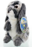 Nibbles Rabbit - Grey 18cm
