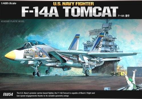 Academy F-14A Tomcat 1/48 Model Kit