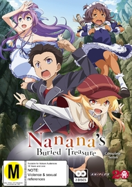 Nanana's Buried Treasure Complete Series (Subtitled Edition) DVD
