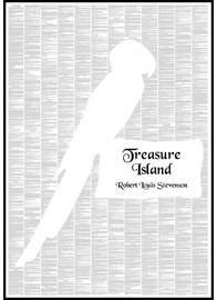 Spineless Classics Print Treasure Island Print (70 x 100cm)