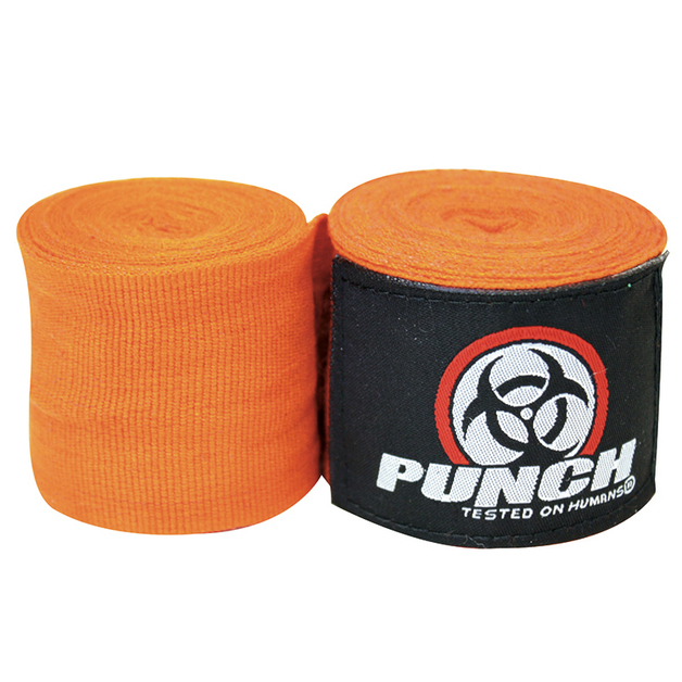 Punch: Urban Hand Wraps - 400cm (Orange)