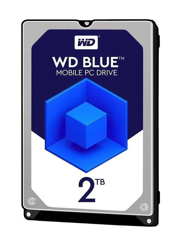 2TB WD Blue - Mobile PC HDD (5400RPM)