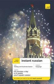 Teach Yourself Instant Russian Third Edition Book by Elisabeth Smith