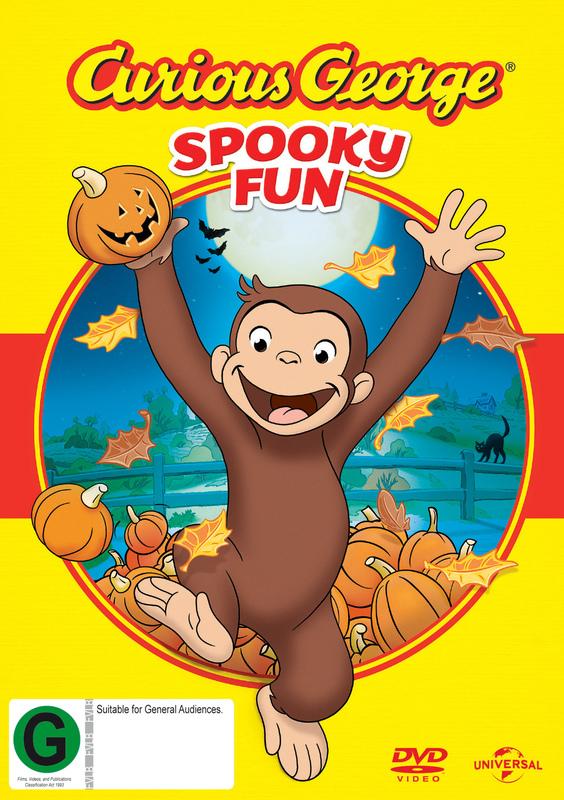Curious George Spooky Fun on DVD