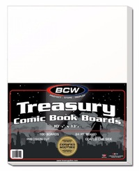 "BCW: Comic Backing Boards - Treasury (10.25"" x 13.5"")"