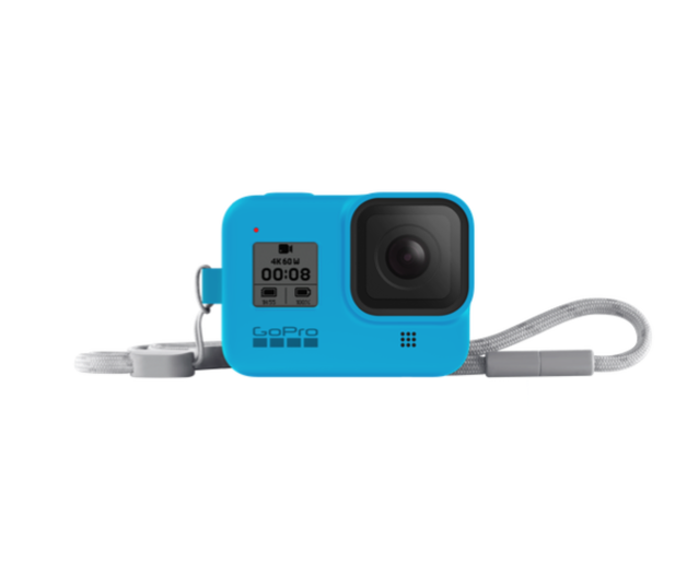 GoPro: Sleeve + Lanyard for HERO8 Black - Bluebird