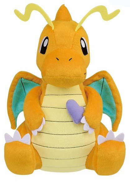 Pokemon: Mogu Mogu Time: Dragonite - Plush