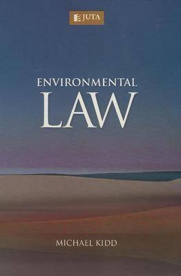 Environmental Law by Michael Kidd image