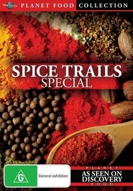 Planet Food: Spice Trails Special on DVD