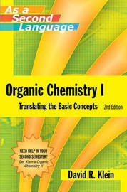 Organic Chemistry as a Second Language by David R. Klein image