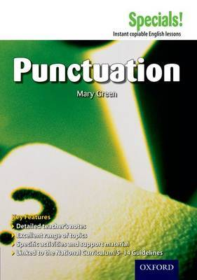 Secondary Specials!: English - Punctuation by Mary Green image