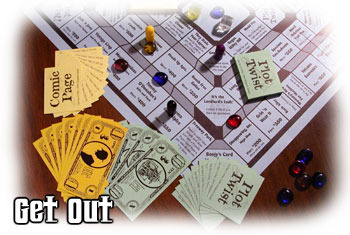 Get Out boardgame