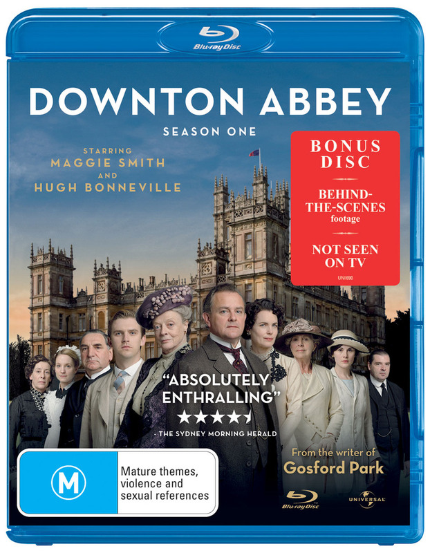 Downton Abbey - The Complete First Season on Blu-ray