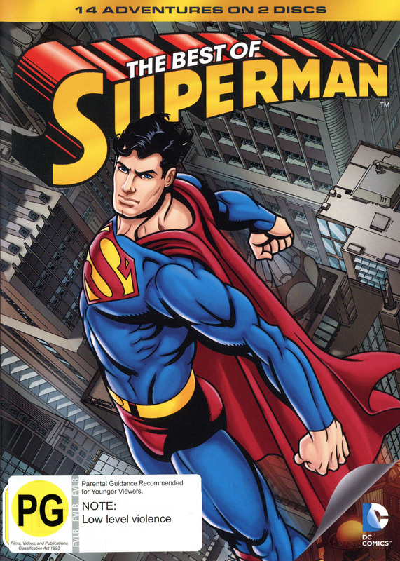 Superman: The Best of Superman on DVD