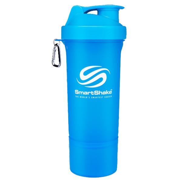 Smartshake Slim 400ml Neon Blue