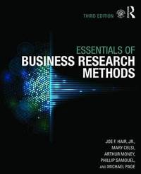 The Essentials of Business Research Methods by Joe F Hair