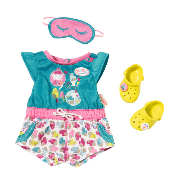 Baby Born Pajamas With Shoes Toy At Mighty Ape Australia